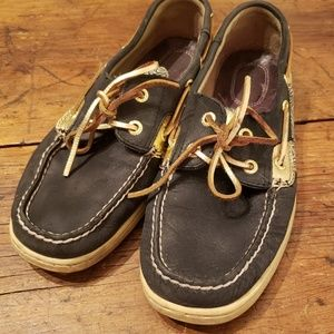 Size 9 womens Sperry top siders shoes